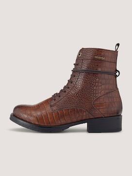 Laarzen met slangenhuidpatroon - 7 - TOM TAILOR Denim