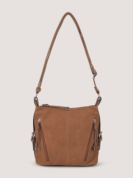 Caia shoulder bag in a material mix - 7 - TOM TAILOR