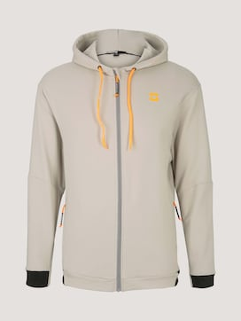 Sweat jacket with a hood - 7 - TOM TAILOR
