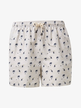 Swimming trunks with a palm tree pattern - 7 - TOM TAILOR
