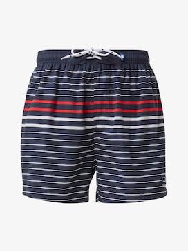 Striped swimming trunks - 7 - TOM TAILOR