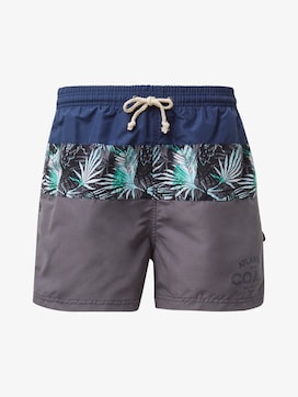 Swimming trunks with block stripes - 7 - TOM TAILOR