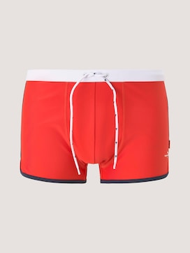Swimming trunks with a small print - 7 - TOM TAILOR