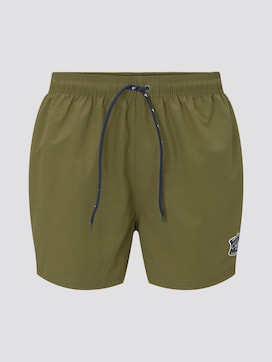 Badeshorts mit Badge - 7 - TOM TAILOR