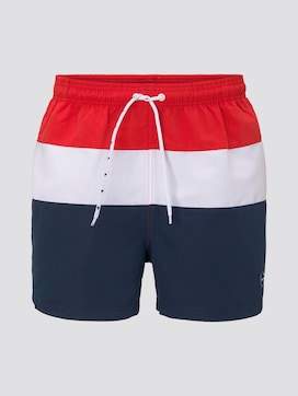 Striped swimming shorts - 7 - TOM TAILOR