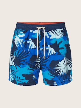 Swimming shorts in a tropical pattern - 7 - TOM TAILOR
