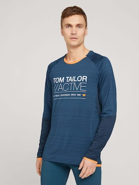 Funktions Langarmshirt - 1 - TOM TAILOR