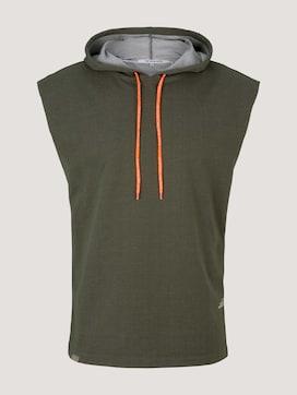 Ärmelloses Sweatshirt mit Kapuze - 7 - TOM TAILOR