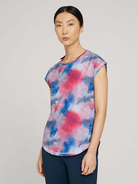 T-Shirt mit Cut Outs - 1 - TOM TAILOR