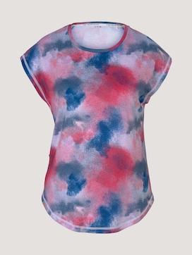 T-shirt met uitsnijdingen - 7 - TOM TAILOR