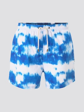 Swimming shorts in a batik pattern - 7 - TOM TAILOR