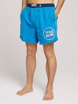 swimming trunks with a print - 1 - TOM TAILOR