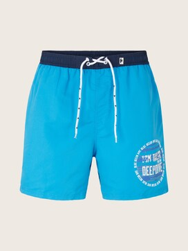 swimming trunks with a print - 7 - TOM TAILOR