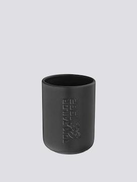 Soho toothbrush mug black - 7 - TOM TAILOR