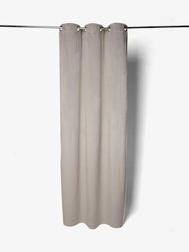 Eyelet curtain in a velvet finish - 7 - TOM TAILOR