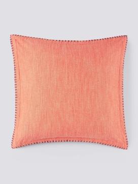 Kissenhülle mit kontrastfarbener Seitennaht - 7 - TOM TAILOR