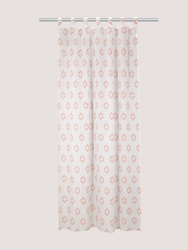 Patterned tab-top curtain - 7 - TOM TAILOR