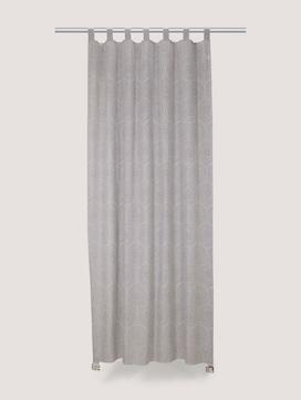 Gemusterter Vorhang mit Leinen - 7 - TOM TAILOR