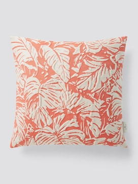 Reversible cushion cover with a tropical print - 7 - TOM TAILOR