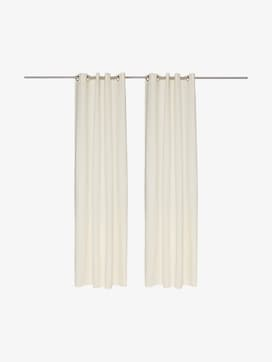 curtains with eyelet dove - 7 - TOM TAILOR