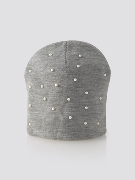 Mütze mit Perlen - 7 - TOM TAILOR