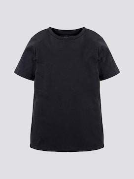 Basic T-shirt van katoen - 7 - TOM TAILOR