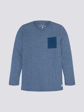 Lange mouwen shirt met borstzak - 7 - TOM TAILOR
