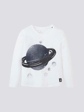 Langarmshirt mit Planeten-Print - 7 - TOM TAILOR
