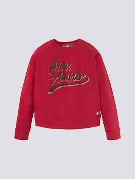 Sweatshirt met belettering print - 7 - TOM TAILOR