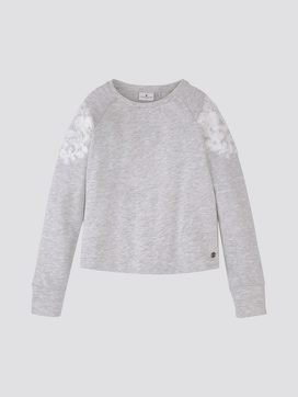 Sweatshirt mit Stickerei - 7 - TOM TAILOR