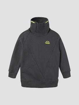 Sweatshirt mit Stehkragen - 7 - TOM TAILOR