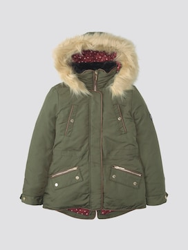 Parka with hood - 7 - TOM TAILOR