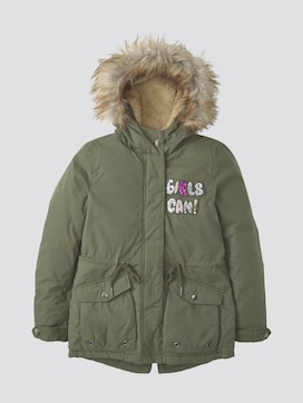Winter parka with hood - 7 - TOM TAILOR