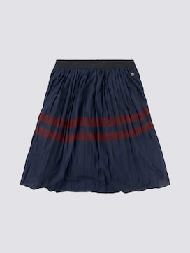Pleated skirt with stripes - 7 - TOM TAILOR