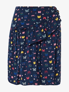 Patterned skirt with flounce - 7 - TOM TAILOR
