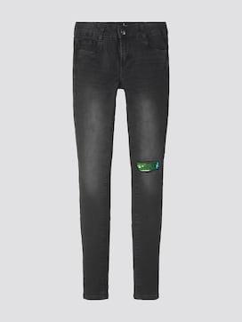 Jeans mit Pailletten-Cut-Out - 7 - TOM TAILOR