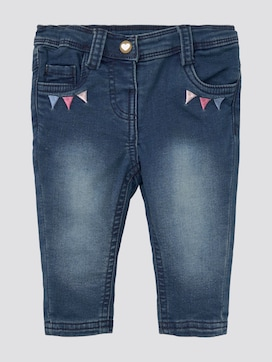 Jeans mit Stickerei - 7 - TOM TAILOR