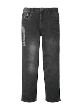 Jungen Tim Slim Jeans, grau