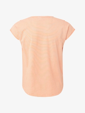 T-shirt with ruffles - 2 - TOM TAILOR