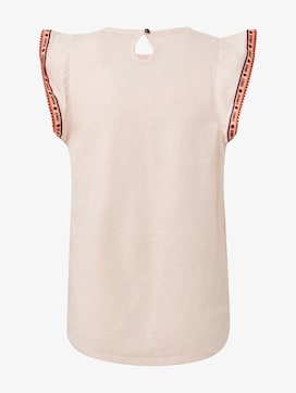 T-Shirt mit Fashion-Tape - 2 - TOM TAILOR