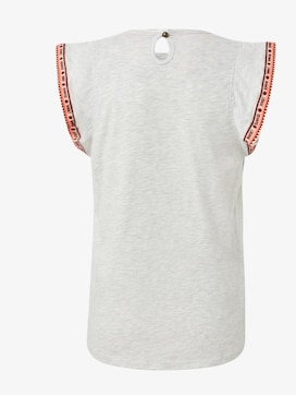 T-Shirt mit Fashion-Tape - 2 - TOM TAILOR