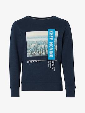 Sweatshirt mit Foto-Print - 7 - TOM TAILOR