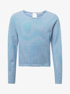 Gestreiftes Sweatshirt - 7 - TOM TAILOR