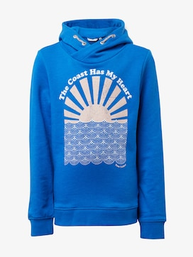 Sweatshirt mit Brust-Print - 7 - TOM TAILOR