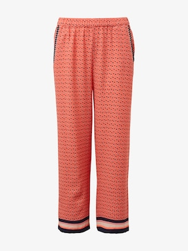 Patterned culottes - 7 - TOM TAILOR