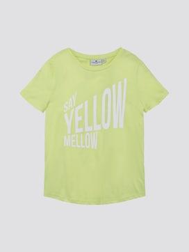T-shirt met print - 7 - TOM TAILOR