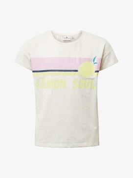 T-Shirt mit Print - 7 - TOM TAILOR