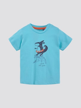 T-shirt met print - 7 - TOM TAILOR