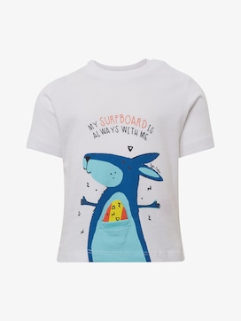 T-shirt with print - 7 - TOM TAILOR