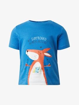 Jungen T-Shirt peached surfboard//505 TOM TAILOR Kids Baby